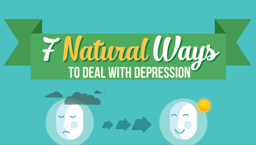 Depression Treatment - [Infographic] 7 Natural Ways To Deal With Chronic Depression