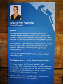 Ainsley Hewett Registered Psychologist