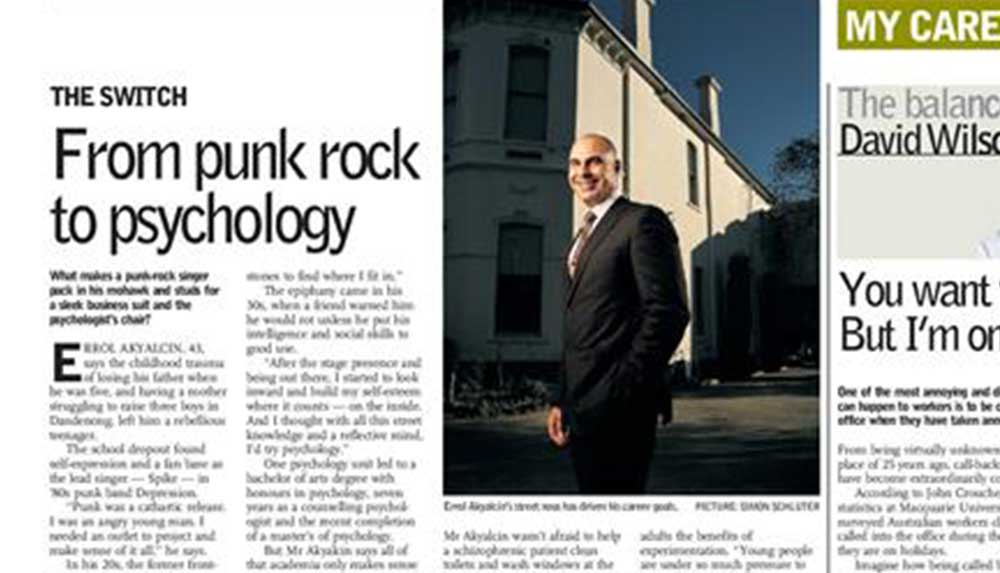 From Punk Rock to Psychology